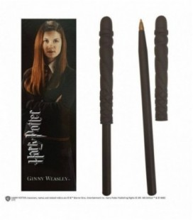Stylo à bille et marque-page Ginny Weasley
